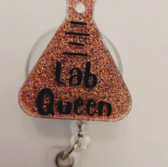 Lab Queen Badge Reel